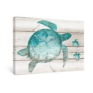 Image Is Loading Sumgar Wall Art For Bathroom Green Sea Turtle