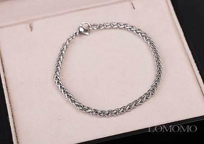 Men's Stainless Steel Bracelet, Men's Chain Bracelet,Unisex Chainmaille Bracelet