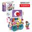 Baukaesten-Sembo-Verkauf-Autohaus-Gebaeude-Figur-Spielzeug-Geschenk-Modell-Kind Indexbild 11