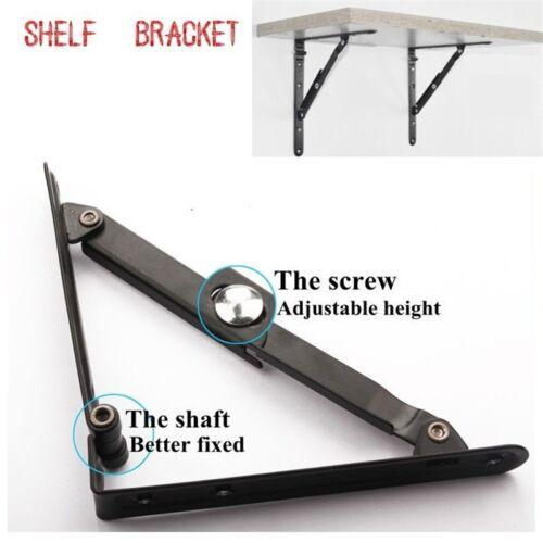 "Multipurpose Folding Shelf Bench Table Fashion Bracket Baking Steel-Hardware 6/"""