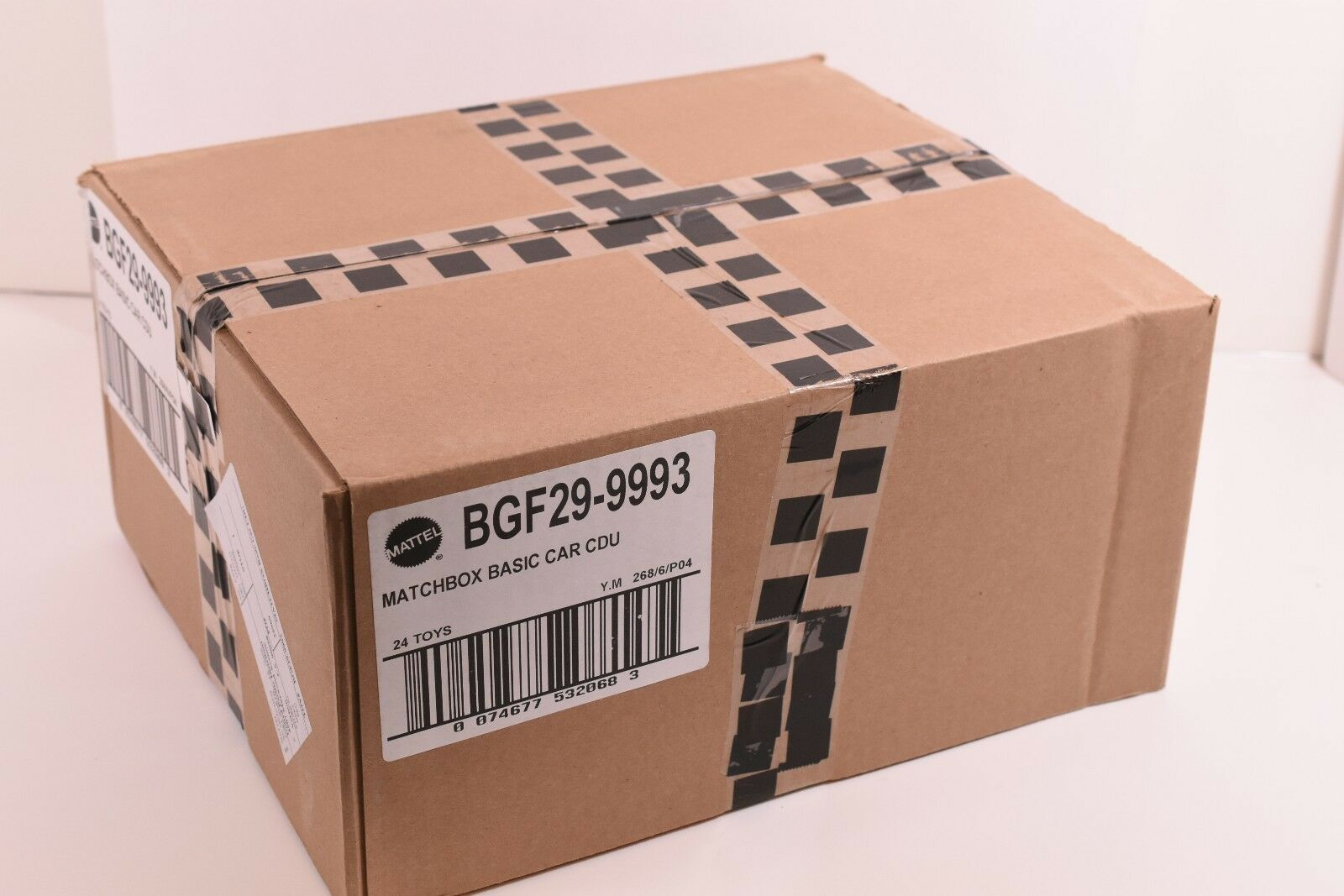 BGF299993 MATTEL MATCHBOX BASIC CAR IN A DISPLAY UNIT MASTER BOX 24 CARS