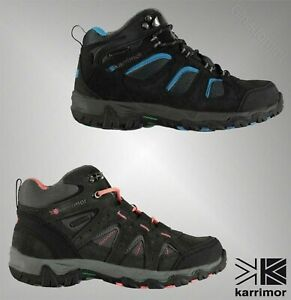 e1ec5fa1b7f Details about Childrens Branded Karrimor Waterproof Mount Mid Top Walking  Boots Size C10-2