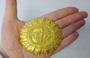 Details about Vintage VANS AUTHENTICS Crown RUNWAY HAUTE COUTURE Pin Brooch Pendant Necklace