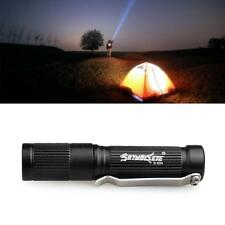 1pc 1000LM Cree Q5 LED Tactical Flashlight Zoom Adjustable 3 Modes Torch Lamp BA