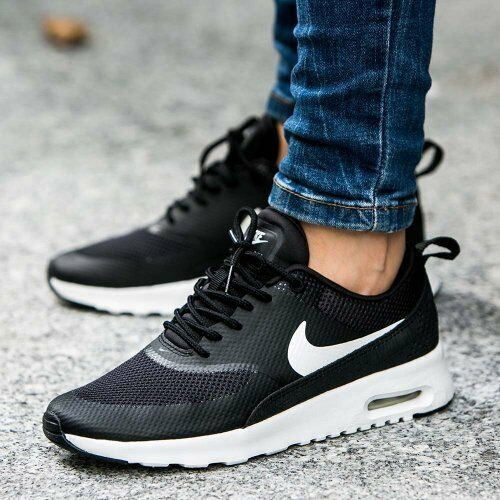 nike thea air max womens black