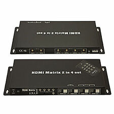 Antiference HDMI Matrix switch 2x4 hdmi0204m