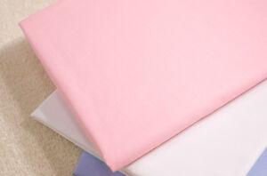 Pink sábanas 2ft 6 X 6ft Hojas De Tamaño De Litera 3 76cm X 190cm Hojas De Niños  </span>