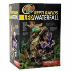 Super Fast Zoo Med Repti Rapids Led Waterfall Wood Style