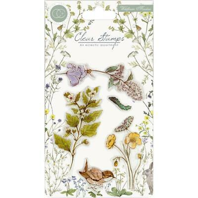 Unmounted Rubber Stamp Sheet Birds A5 Last One