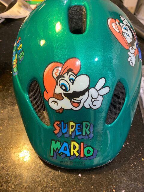 Nintendo Super Mario Safety Junior Helmet By ABUS RARE RARE Used 24 Years Old