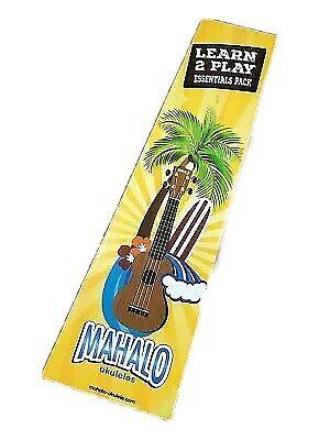 Mahalo Hano Wider Neck Mh2w Vna Ukulele Concert Vintage Naturel Housse For Sale Online Ebay