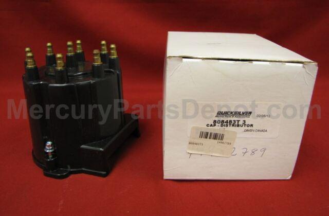 NEW OEM MERCURY Mercruiser 808483 t3 Distributor Cap Ignition