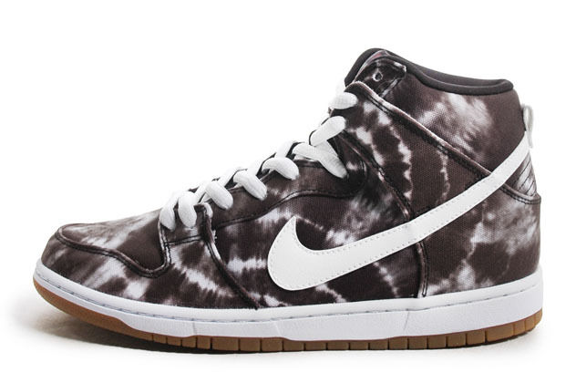 Nike DUNK HIGH PREMIUM SB Noir blanc Tye  Dye Discounted  Hommes  Tye Chaussures d466ac