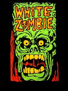 WHITE-ZOMBIE-cd-lgo-MONSTER-YELL-Official-SHIRT-XL-New-rob-zombie