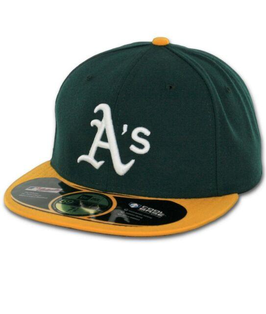 New Era 59Fifty MLB Authentic Collection Oakland Athletics Baseball Cap Hat