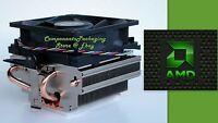 Amd Cpu Cooling Fan Near-silent For Phenom Fx Processors Socket Am3 Am2 940