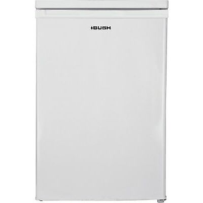 Bush BUCF5585 Free Standing 85L Under Counter Freezer - White. A+