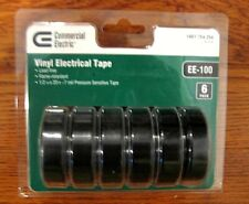 Commercial Electric Black Vinyl Electrical Tape Ee 100