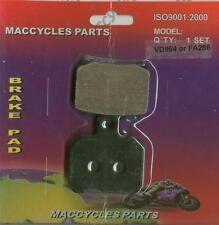 Piaggio Vespa Disc Brake Pads X9 200 2002-2004 Rear (1 set)