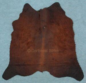 peau de vache fourrure taureau tapis noir marron rouge (1062 ...