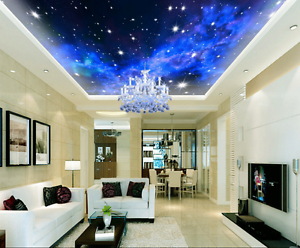 3D Shining Stars 894 Ceiling WallPaper Murals Wall Print Decal Deco AJ WALLPAPER