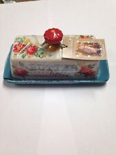 Teal - The Pioneer Woman, BUTTER MAKES EVERYTHING BETTER Dish REE DRUMMOND-*NWT*