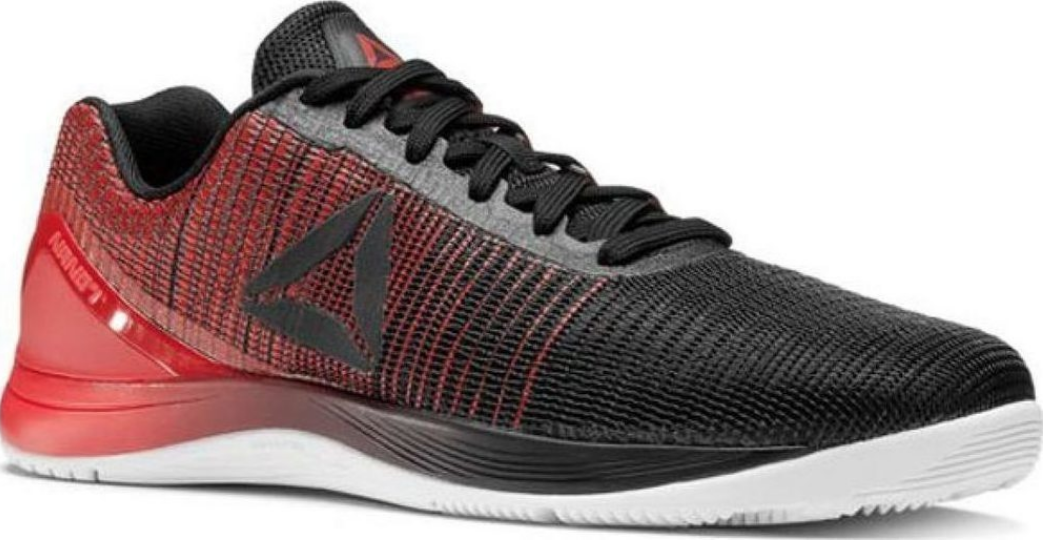 New Reebok Men's Crossfit Nano 7.0 Running shoes Black white primal Red  Bs8345