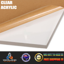 CLEAR ACRYLIC SHEET (A7) (Size 105x74mm) SELECT THICKNESS 1.5mm TO 25mm
