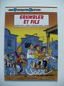 PUB-pour-GB-neuf-Tuniques-bleues-33-Grumbler-et-fils-Lambil-Dupuis