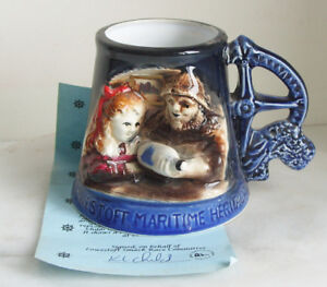 Great-Yarmouth-Pottery-Mug-No-358-of-500-Lowestoft-Maritime-Heritage-with-cert