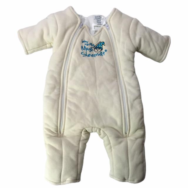 Baby Merlin's Magic Sleepsuit. Ivory White Size Small 3-6 ...