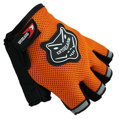 Men's Body Building Fitness Exercise Workout Weight Lifting Gloves Gym Training