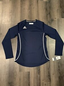 Details about Adidas Utility LS Jersey 4738W Collegiate Navy / White   Size S   New with Tags