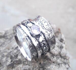 Rose-Quartz-Solid-925-Sterling-Silver-Spinner-Ring-Meditation-Ring-ee02