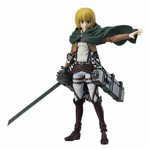 Attaque sur Titan Figma Action Figure Erwin Smith Authentic Max Factory NEUF