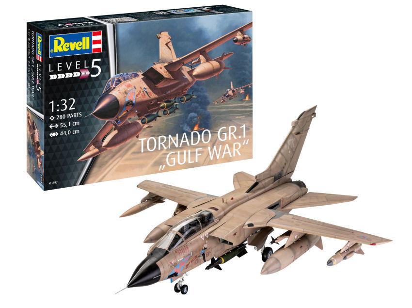 Tornado Gr Mk.1 Raf 'GULF WAR' Fight  Plastic Kit 1 32 Model 03892 REVELL  magasin d'usine