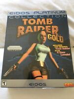 Tomb Raider Gold Eidos Platinum (pc) 2000 Sealed In Big Box