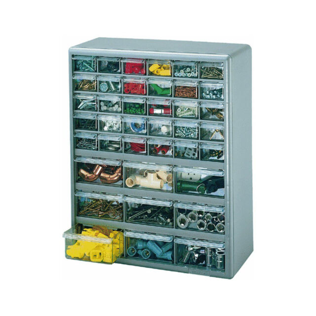 Superb Stack On 39 Drawer Storage Cabinet For Bin Parts And Tools
