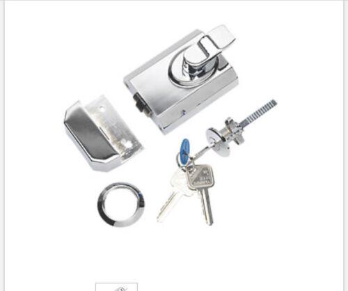 EuroSpec sfrcb 8260PC jante cylindre stylo à bille chrome poli 60 mm Backset