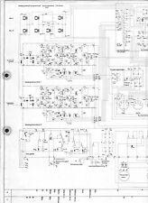 Braun Service Schaltplan für TG 60