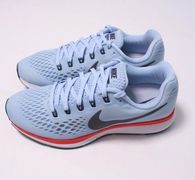 5426a20e0ddd WMNS Nike Air Zoom Pegasus 34 Ice Blue Fox Bright Crimson 880560-404 Womens  6