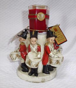 Bougeoir Porte bougie neuf marque Aromatique scenteur Noël enfants tambours ????