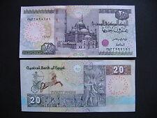 EGYPT  20 Pounds 7.2.2016  (Pnew)  UNC