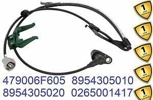ABS Wheel Speed Sensor Left Front Fits TOYOTA Carina E Saloon 8954305010