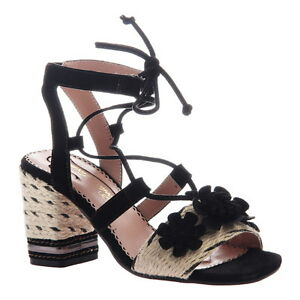 f4edbfdb5a6e Poetic Licence Women s Entwined Ghillie Lace-Up Block Heel Sandals ...