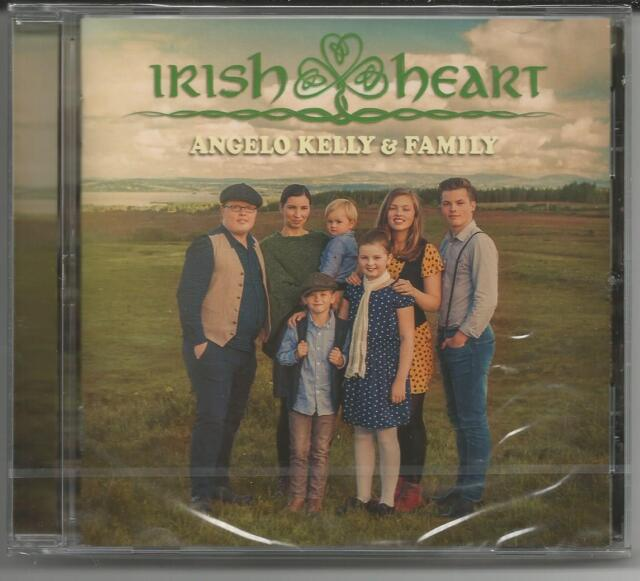 "Angelo Kelly & Family ""Irish Heart"" CD 2018 - NEU/OVP ""Danny Boy/Always Be There"