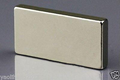 N50 Neodymium Super Power Strong Cuboid Block 30 x 20 x 5mm Magnet Rare Earth