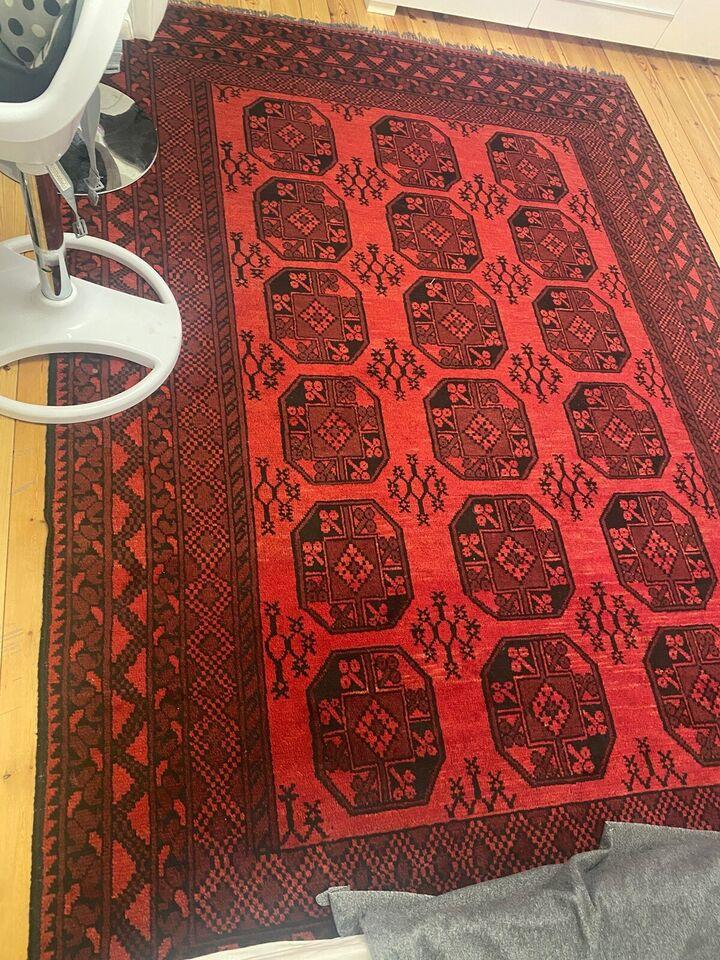 Gulvtæppe, ægte tæppe, b: 200 l: 300