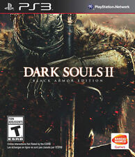 Dark Souls 2 II Black Armor Edition *Brand New* PS3 (Sony PlayStation 3, 2014)