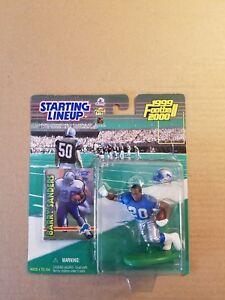 Barry Sanders 1999 Detroit Lions Starting Lineup Action Figure Card